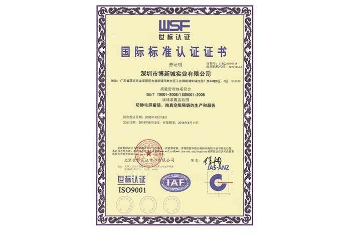 ISO9001中文版