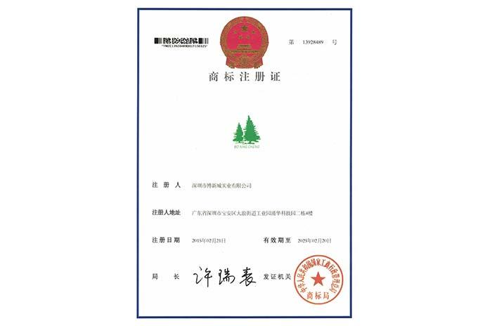 博新城商标logo中文版
